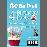 BearPit 4th birthday! in Bristol le Sat, July  7, 2018 from 09:00 pm to 02:00 am (After-Work Gay, Bear)