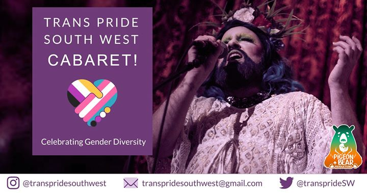 Trans Pride South West Cabaret | The Old Market Assembly in Bristol le Sun, November 24, 2019 from 07:30 pm to 09:30 pm (Meetings / Discussions Gay, Lesbian, Trans, Bi)