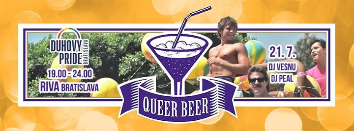 Queer Beer PRIDE in Bratislava le Sun, July 21, 2019 from 07:00 pm to 11:55 pm (After-Work Gay, Lesbian, Trans, Bi)