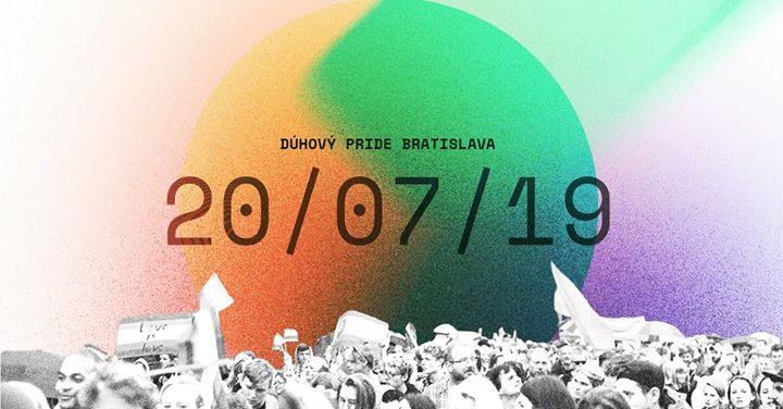 Dúhový PRIDE Bratislava 2019 en Bratislava le sáb 20 de julio de 2019 15:00-20:00 (Festival Gay, Lesbiana, Trans, Bi)