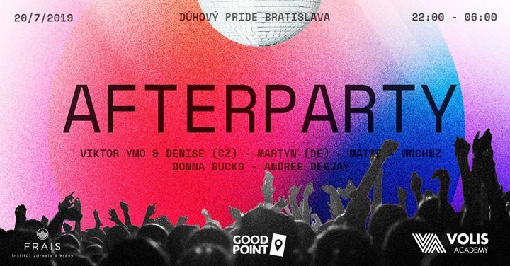 Afterparty Dúhový PRIDE Bratislava en Bratislava le sáb 20 de julio de 2019 23:00-06:00 (Clubbing Gay, Lesbiana, Trans, Bi)