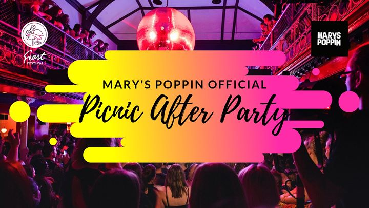 Mary's Poppin Official Picnic After Party a Adelaide le dom 24 novembre 2019 19:00-01:00 (Picnic Gay, Lesbica, Trans, Bi)