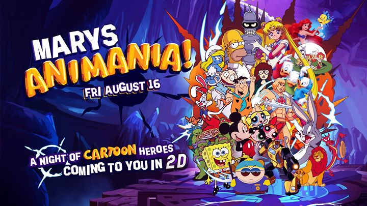 Mary's Animania in Adelaide le Fri, August 16, 2019 from 08:00 pm to 03:30 am (Clubbing Gay, Lesbian, Trans, Bi)
