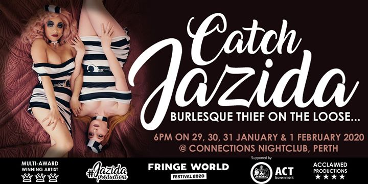 Catch Jazida at Fringe World Perth in Perth le Wed, January 29, 2020 from 06:00 pm to 07:00 pm (After-Work Gay, Lesbian)