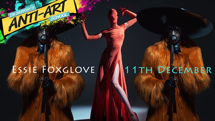 Dr Sketchy's with model Essie Foxglove in Perth le Wed, December 11, 2019 from 07:30 pm to 10:30 pm (After-Work Gay, Lesbian)