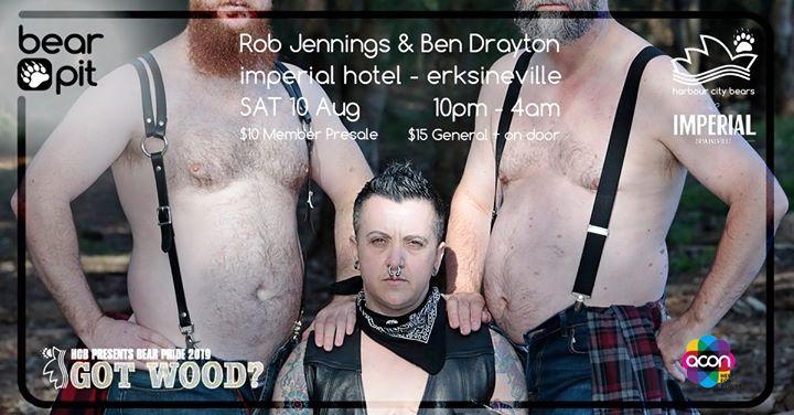 Bear Pride - Bear Pit à Erskineville le sam. 10 août 2019 de 22h00 à 04h00 (Clubbing Gay, Bear, Bi)