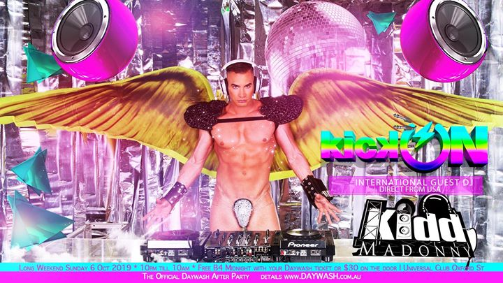 Kick On After Party in Sydney le Sun, October  6, 2019 from 10:00 pm to 04:00 am (Clubbing Gay)