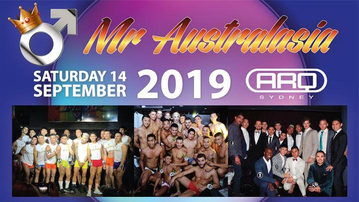 Mr Australasia 2019 a Sydney le sab 14 settembre 2019 20:00-23:00 (Clubbing Gay)