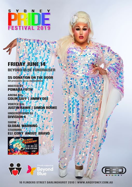 Pride Festival 2019 Beyond Blue fund raising event. en Sydney le vie 14 de junio de 2019 21:00-08:00 (Clubbing Gay)