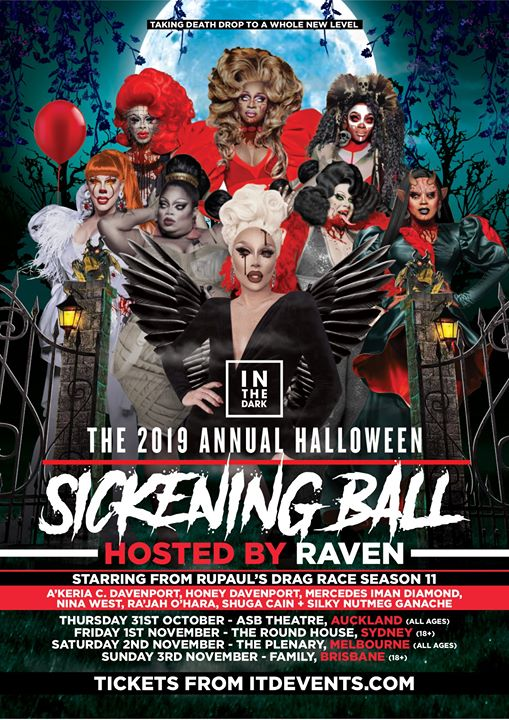Sickening Ball 2019 Auckland in Auckland le Thu, October 31, 2019 from 08:00 pm to 11:00 pm (Show Gay)