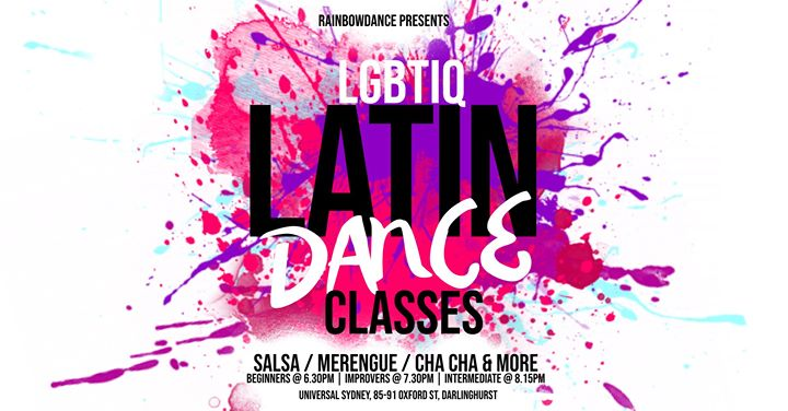 Latin Dance Classes à Sydney le mer. 26 juin 2019 de 18h30 à 21h00 (After-Work Gay)