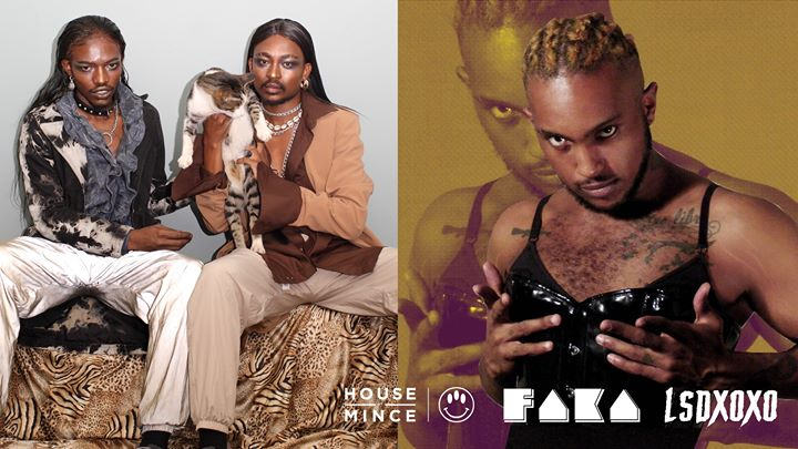 House of Mince presents FAKA + Lsdxoxo in Sydney le Do 13. Juni, 2019 21.00 bis 01.00 (After-Work Gay)