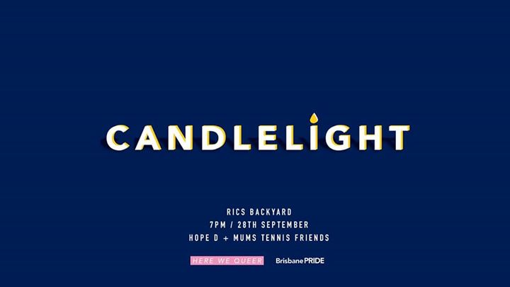 CandleLight | Here We Queer X Brisbane Pride in Brisbane le Sat, September 28, 2019 from 07:00 pm to 10:00 pm (Festival Gay, Lesbian, Trans, Bi)