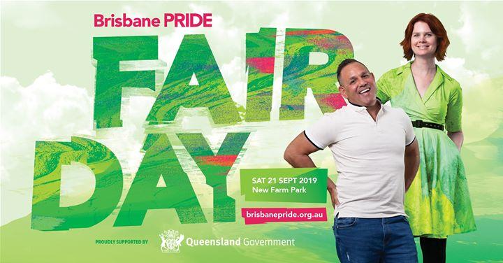 Pride Fair Day 2019 a Brisbane le sab 21 settembre 2019 11:00-18:00 (Festival Gay, Lesbica, Trans, Bi)