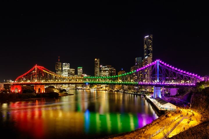 Story Bridge Pride Lights Up a Brisbane le ven 20 settembre 2019 18:00-23:30 (Festival Gay, Lesbica, Trans, Bi)