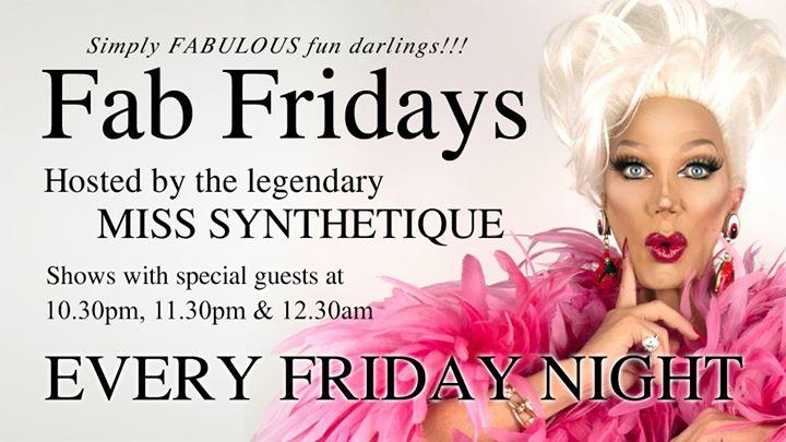 Fab Fridays à Brisbane le ven. 15 novembre 2019 de 22h30 à 01h30 (Clubbing Gay)