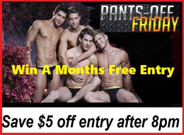 Pants Off Friday - Win Free Entry to Club29 for a Month em Brisbane le sex,  9 agosto 2019 20:00-07:00 (Sexo Gay)