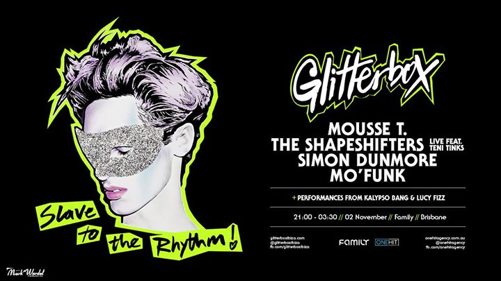 Glitterbox Brisbane in Brisbane le Sat, November  2, 2019 from 09:00 pm to 03:30 am (Clubbing Gay Friendly)
