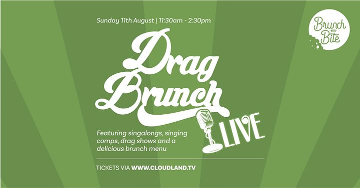 Drag Brunch LIVE | Launch Party en Brisbane le dom 11 de agosto de 2019 11:30-14:30 (Brunch Gay Friendly)