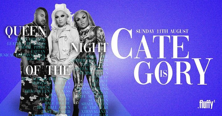 Category Is Queen Of The Night | Thicc Shake Crew en Brisbane le dom 11 de agosto de 2019 21:00-03:30 (Clubbing Gay Friendly)