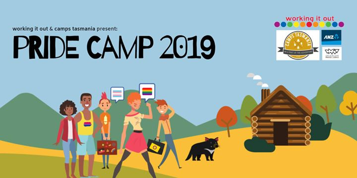 Pride Camp 2019 en Gravelly Beach del 11 al 13 de octubre de 2019 (Reuniones / Debates Gay, Lesbiana, Trans, Bi)