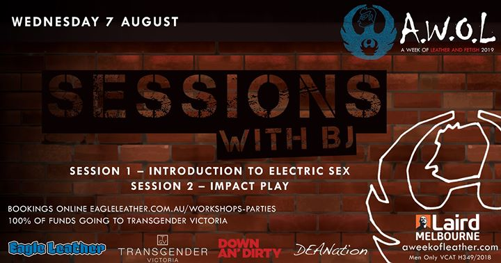AWOL - Sessions with BJ (SOLD OUT) à Melbourne le mer.  7 août 2019 de 18h00 à 23h00 (After-Work Gay)