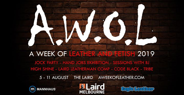 A Week of Leather and Fetish 2019 à Melbourne du  5 au 11 août 2019 (After-Work Gay)