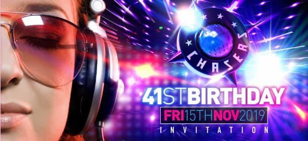 Chasers 41st Birthday in Melbourne le Fri, November 13, 2020 from 09:00 pm to 07:00 am (Clubbing Gay Friendly)