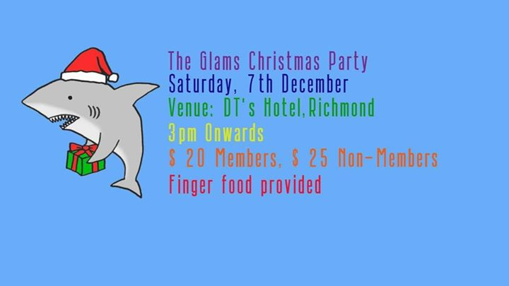 The Glams Christmas Party 2019 em Melbourne le sáb,  7 dezembro 2019 15:00-18:30 (After-Work Gay)