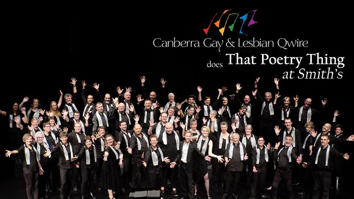 Qwire does That Poetry Thing at Smith's Alternative in Canberra le Mon, July 15, 2019 from 07:00 pm to 09:00 pm (After-Work Gay, Lesbian, Trans, Bi)
