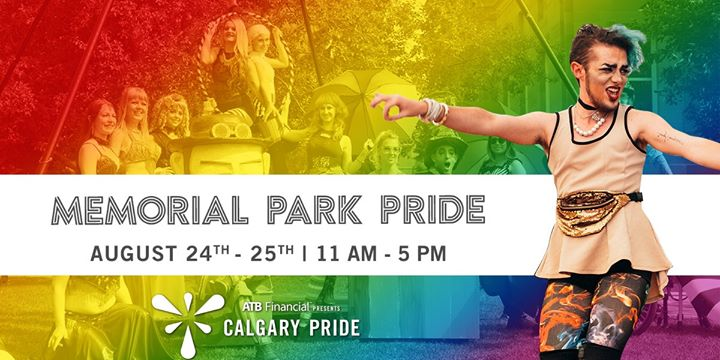Memorial Park Pride in Calgary le Sat, August 24, 2019 from 11:00 am to 05:00 pm (Festival Gay, Lesbian, Trans, Bi)