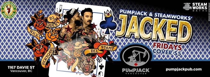 Jacked Friday in Vancouver le Fri, October 11, 2019 from 10:00 pm to 03:00 am (Sex Gay)