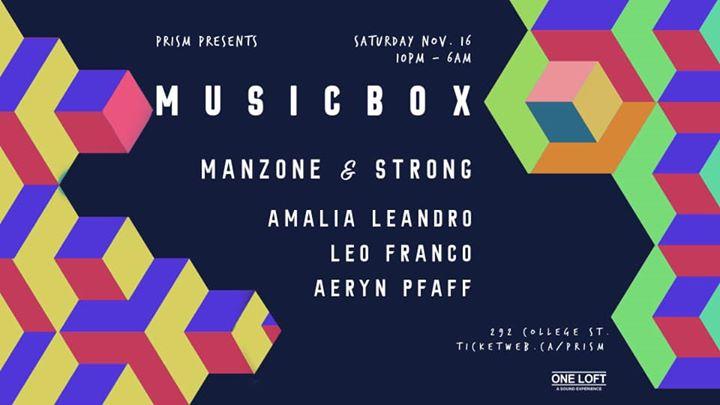 多伦多Prism presents MusicBox2019年10月16日,22:00(男同性恋 俱乐部/夜总会)