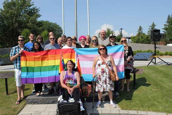 Pride Flag Raising - Barrie in Barrie le Mon, July 29, 2019 from 04:30 pm to 05:00 pm (Festival Gay, Lesbian)