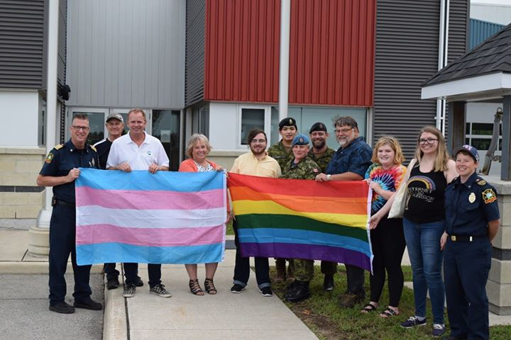 Pride Flag Raising - Clearview in Stayner le Thu, August  1, 2019 from 04:00 pm to 04:30 pm (Festival Gay, Lesbian)