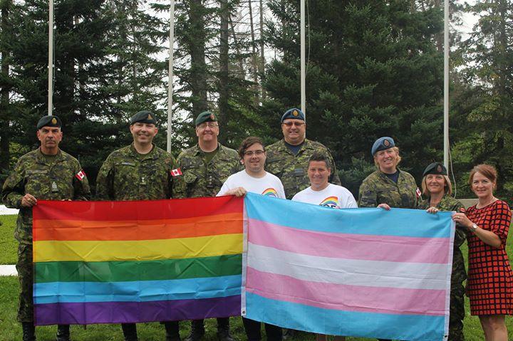 Pride Flag Raising - Borden in Waubaushene le Thu, August  1, 2019 from 09:00 am to 09:30 am (Festival Gay, Lesbian)