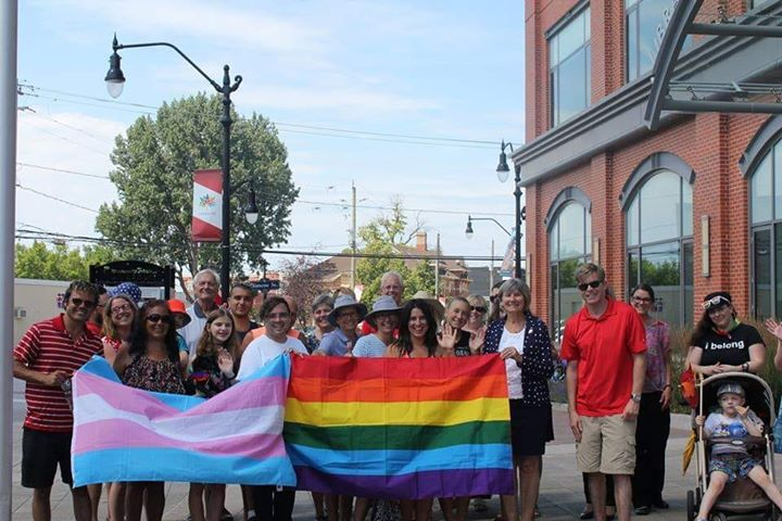 Pride Flag Raising - Collingwood in Collingwood le Wed, July 31, 2019 from 04:00 pm to 04:30 pm (Festival Gay, Lesbian)