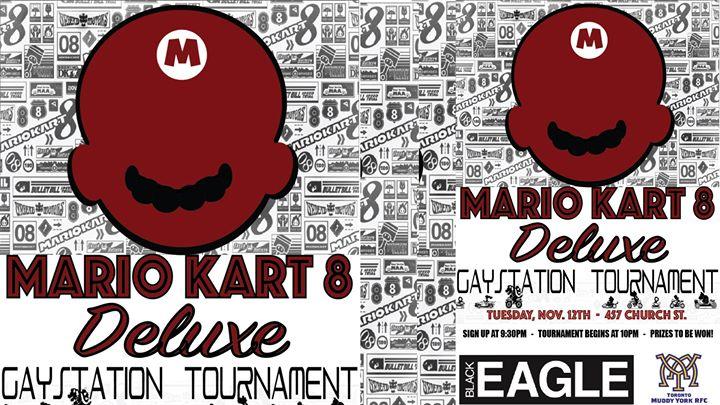 Mario Kart 8 Deluxe Gaystation Tournament à Toronto le mar. 12 novembre 2019 de 21h30 à 01h00 (After-Work Gay, Bi)
