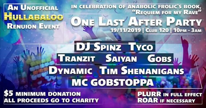 One Last After Party: An Unofficial Hulla Reunion à Toronto le mar. 19 novembre 2019 de 22h00 à 03h00 (Clubbing Gay Friendly)