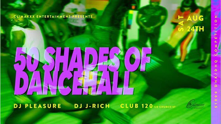50 Shades Of Dancehall em Toronto le sáb, 24 agosto 2019 22:00-03:00 (Clubbing Gay Friendly)