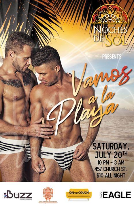Noches De Sol - Vamos a la Playa in Toronto le Sa 20. Juli, 2019 22.00 bis 03.00 (Clubbing Gay)
