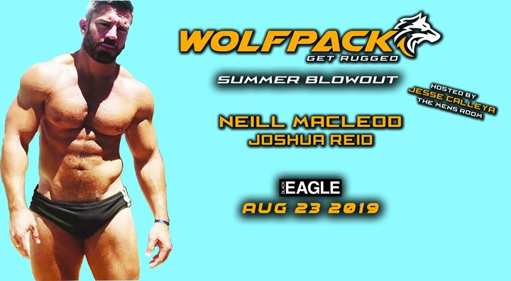 Wolfpack - Summer Blowout a Toronto le ven 23 agosto 2019 22:00-03:00 (Clubbing Gay)