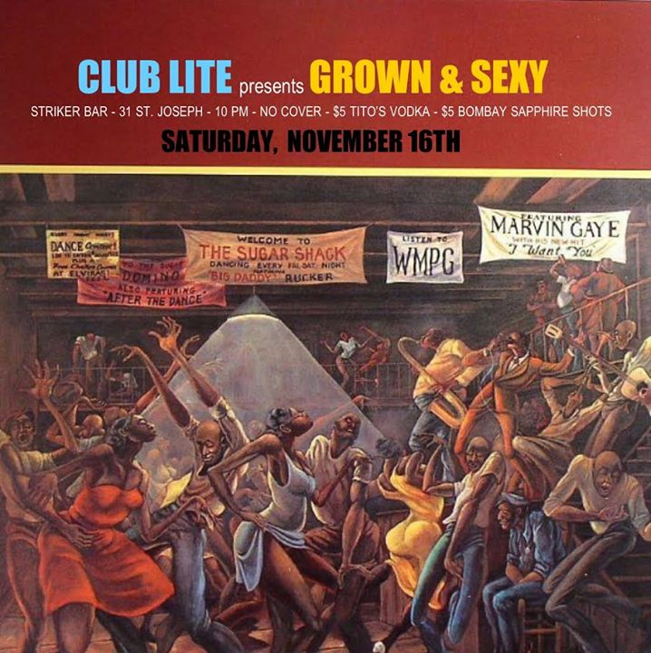 CLUB LITE presents Grown & Sexy in Toronto le Sat, November 16, 2019 from 10:00 pm to 02:00 am (Clubbing Gay)