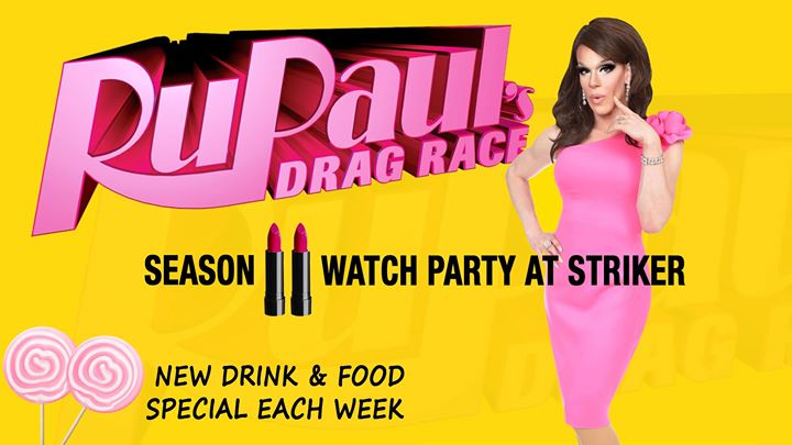 RuPaul Drag Race watch party à Toronto le jeu. 30 mai 2019 de 21h00 à 22h00 (After-Work Gay)