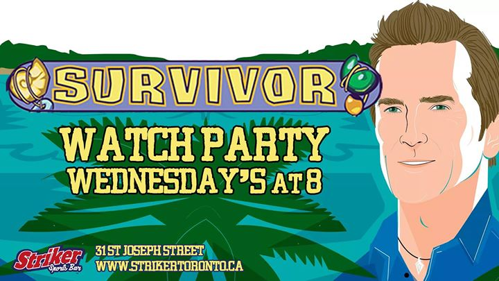 Survivor Watch Party in Toronto le Wed, November 13, 2019 from 08:00 pm to 09:00 pm (After-Work Gay)