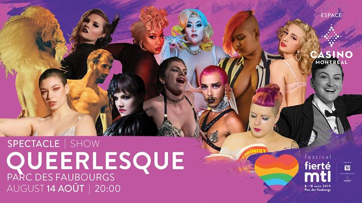 Festival Fierté Montréal – Queerlesque in Montreal le Wed, August 14, 2019 from 08:00 pm to 10:00 pm (Show Gay, Lesbian)