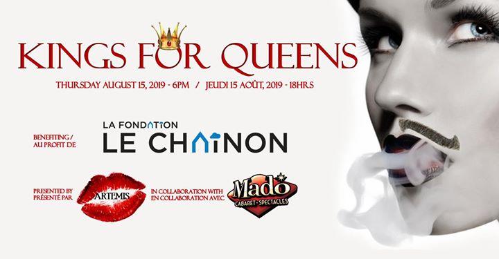 Kings for Queens 2019 en Montreal le jue 15 de agosto de 2019 18:00-21:00 (Espectáculo Gay)