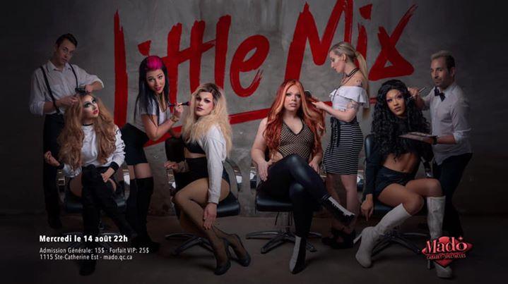 Little Mix en Montreal le mié 14 de agosto de 2019 22:00-03:00 (Espectáculo Gay)