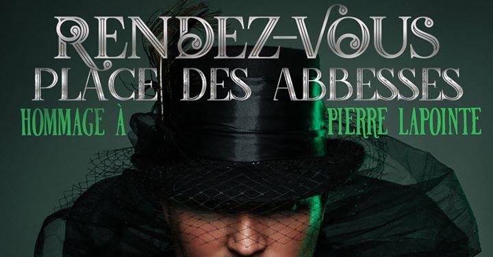 Rendez-vous Place des Abbesses / Samedi 10 août 2019 / Montréal in Montreal le Sat, August 10, 2019 from 07:00 pm to 09:30 pm (Show Gay, Lesbian)