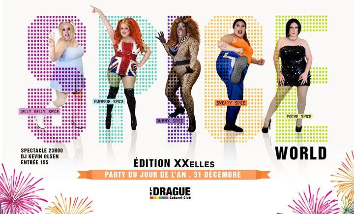 Party du jour de l'an : Spice World a Quebec le mar 31 dicembre 2019 23:00-03:00 (Clubbing Gay)